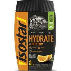 Isostar Hydrate & Perform Tub 400g Orange